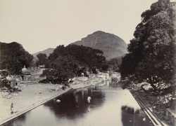 [Burning Ghat at Damodar temple, Junagadh.]
